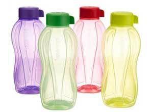 Tupperware Aquasafe Water Bottle Set, 1 Litre, Set of 4 At Rs.558