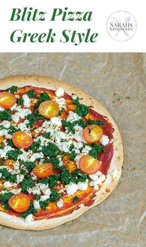 Blitz Pizza Greek Style