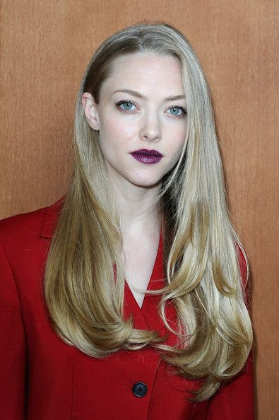 Genteel Amanda Seyfried...  Fabulous Hairstyles...   Seyfried appeared as the title character in the erotic thriller Chloe, theatrically released by Sony Pictures Classics on March 26, 2010. Chloe originally premiered at the Toronto Film Festival in September 2009. In the film, Seyfried's character is an escort/prostitute who is hired to test a husband, because his wife feels that she cannot trust his fidelity.