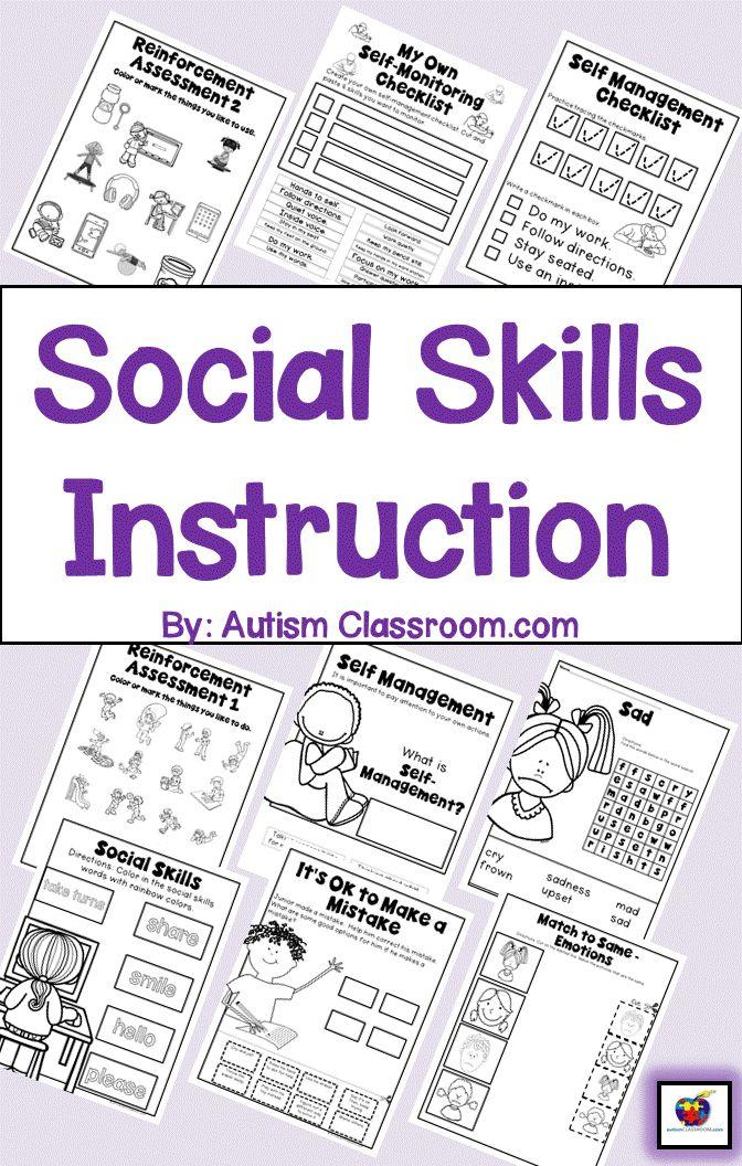 Best 25+ Social skills autism ideas on Pinterest | Social skills ...