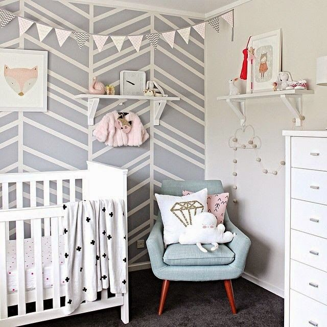 Lovely chair || Wall || Nursery