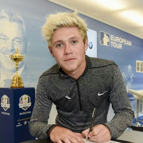 Niall is now an official ambassador for the Ryder's Cup 2016!