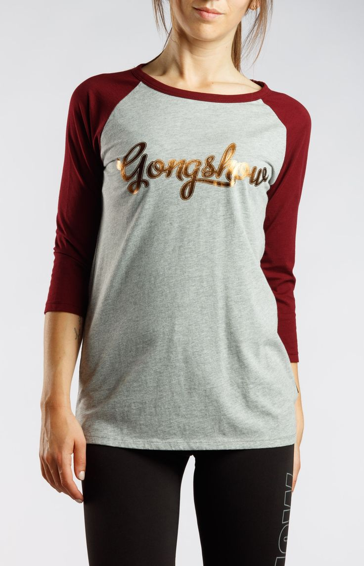 Gonger Girl Grey Gongshow Hockey Womens Shirt | GONGSHOW Hockey Lifestyle Apparel