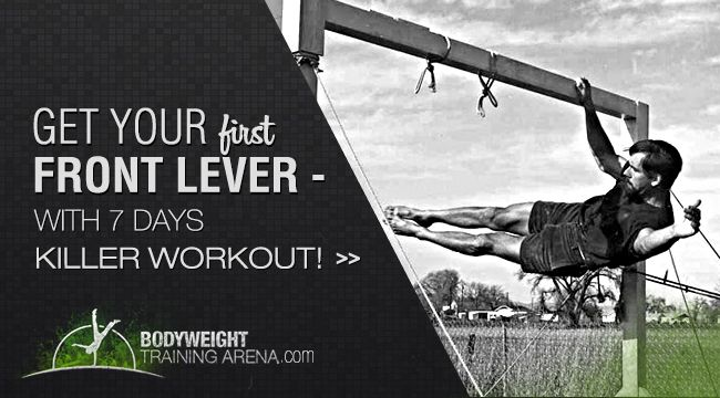 Every skill takes practice to master. By doing the Front Lever Workout, you will…