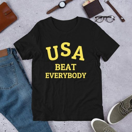 USA Beat Everybody Short-Sleeve Unisex T-Shirt
