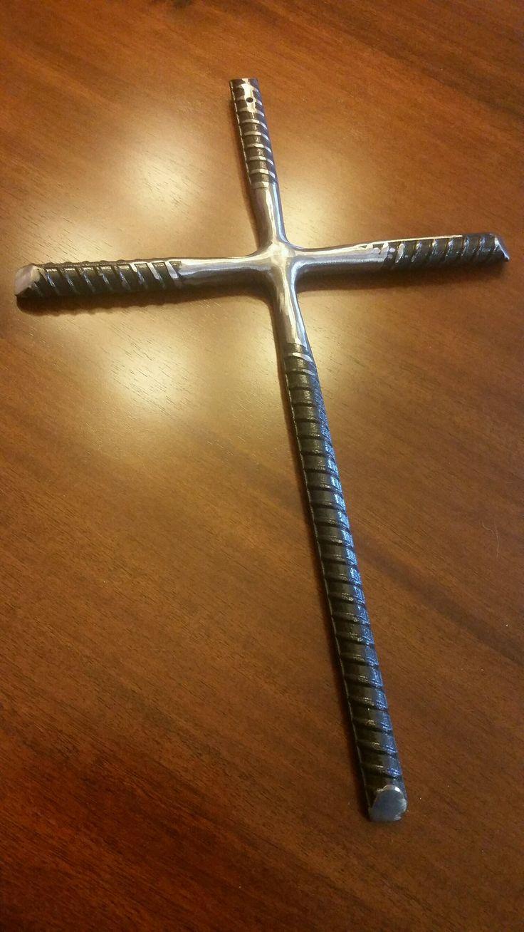 Welded Rebar Cross Welding Art Welding Projects Welding