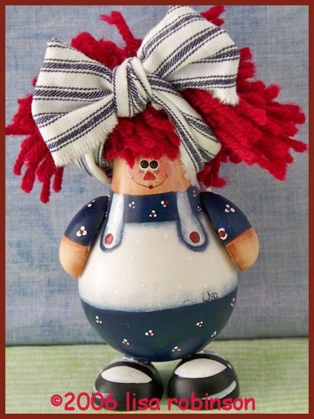 Raggedy Ann: Pdf Epattern, Acrylic Paintings, Rag Dolls, Crafts Lightbulbs, Bulb Craft, Painting Patterns, Lightbulb Ornament