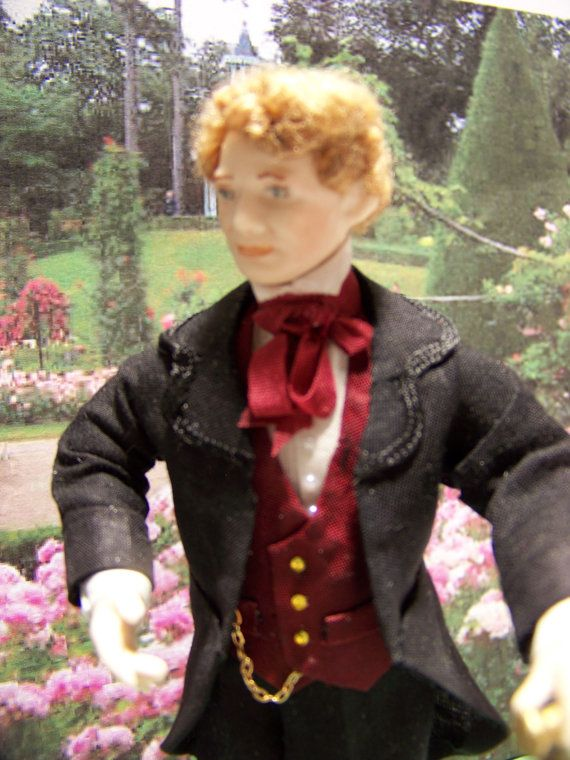 Victor porcelain dollhouse doll :12th. Doll by Beatrice5804
