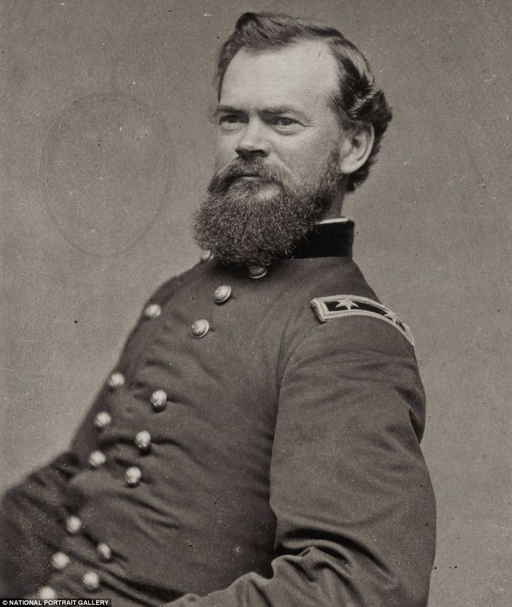 General James B. McPherson. McPherson, Kansas, my hometown, was named for the General.