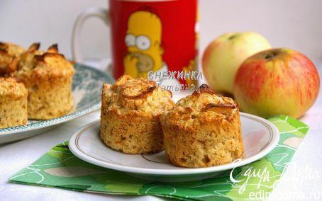 Английские яблочные мини пироги с корицей («Школьная ссобойка») | Кулинарные рецепты от «Едим дома!»