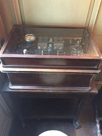 Fischer spark-gap diathermy machine ca. 1925, 1 of 3