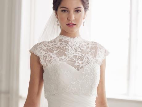 LILLY Spitzentop für die #Braut #Bolero