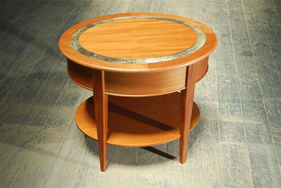 Mahogany and alligator end tableEnd Tables
