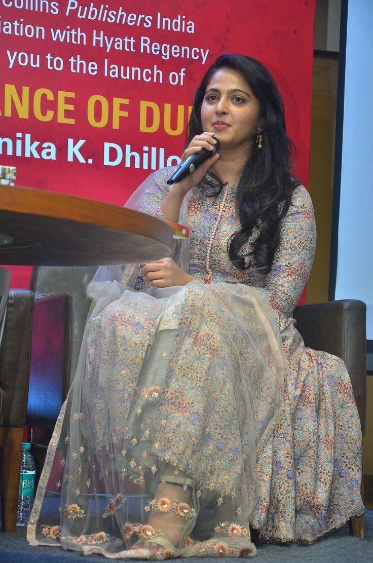 Anushka Shetty at The Dance of Durga-Book-Launch