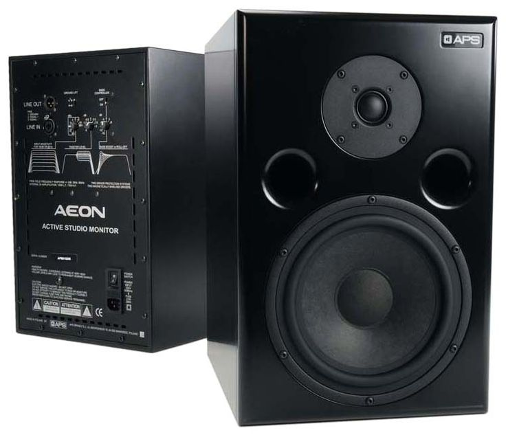 APS Aeon Active Monitors w/ Titanium Dome Tweeter - Pair - Vintage King Audio