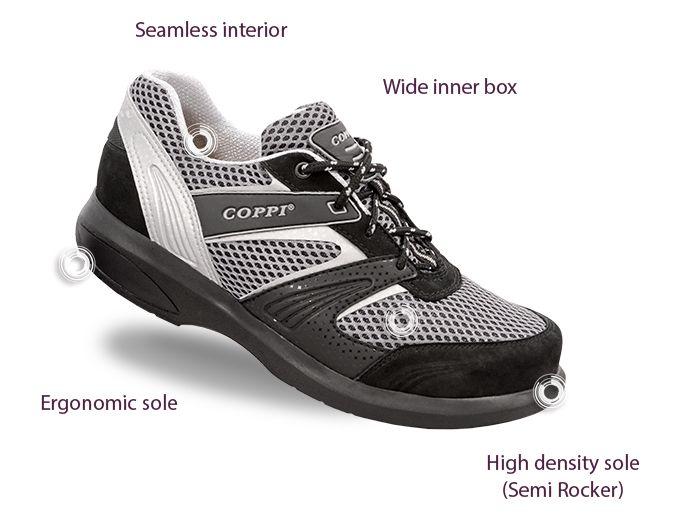 Zapatos para Diabéticos - Deportivos para hombre COPPI