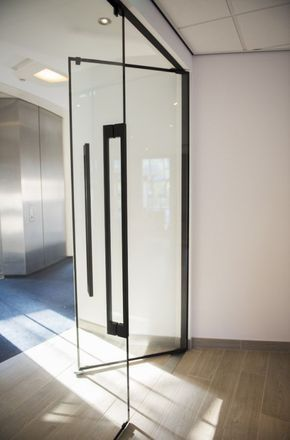 Lunax presents fully glazed fire doors: ultimate transparency in fire safety. EI30 and EI60 approved. Discover our new Concept One: a fully frameless structural fire-rated glass wall with integrated fire door!