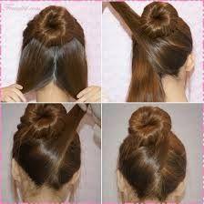 Hasil gambar untuk tutorial rambut panjang simple