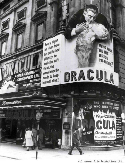 Dracula,Vintage movie theater, classic horror films