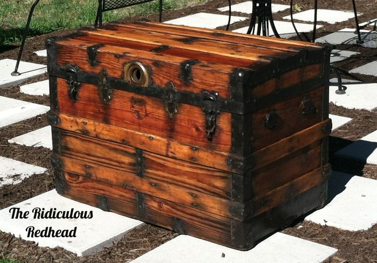The Ridiculous Redhead-How To Restore a Trunk