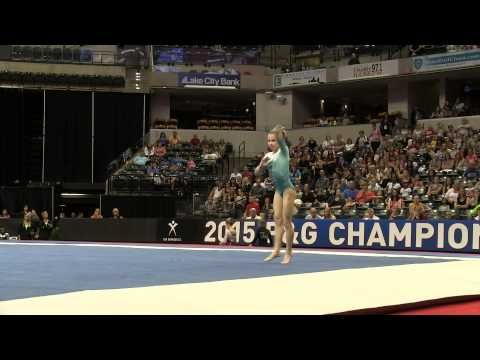 Ragan Smith– Floor Exercise – 2015 P&G Championships – Jr. Women Day 2