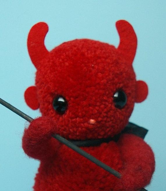 Halloween Red Devil Imp