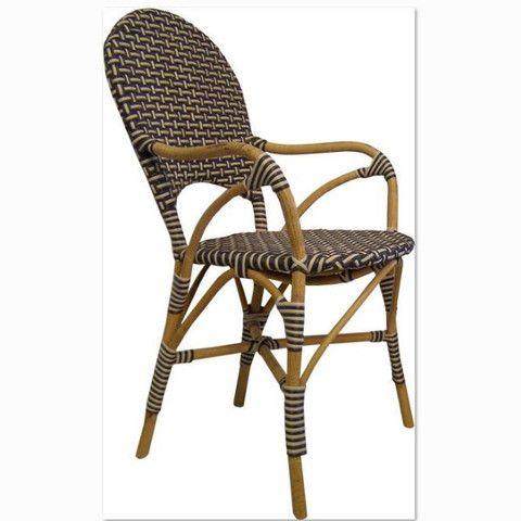 Bella Dining Chair - Grey. Very comfortable indoor / outdoor chair. #interiordesign #diningchair #coastalliving