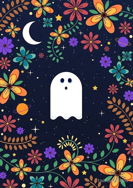 'Spoopy Cute Ghost. Halloween Decor. Cute Ghost Dia De Los ...