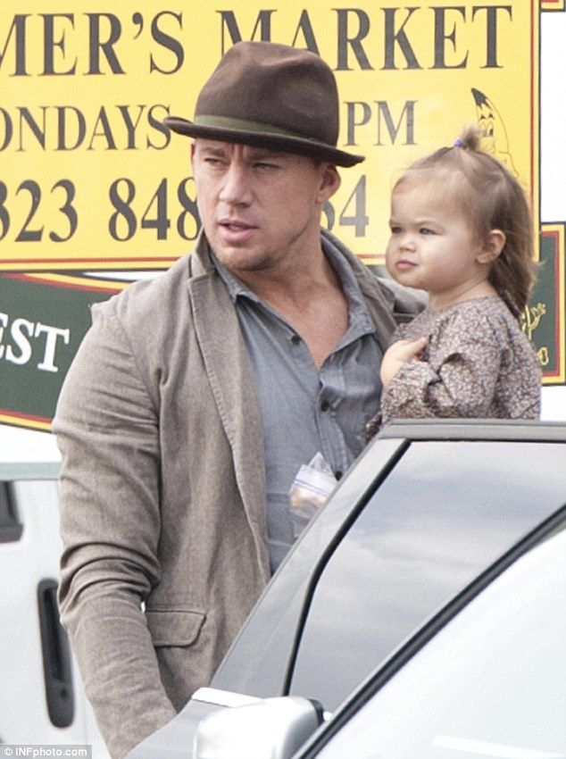 Channing with his daughter Everly | Channing Tatum ...