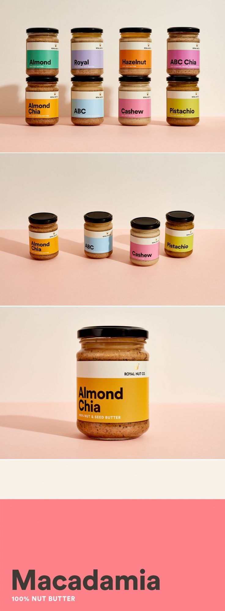 Royal Nut Co. - The Butter of Designers — The Dieline - Branding & Packaging Design
