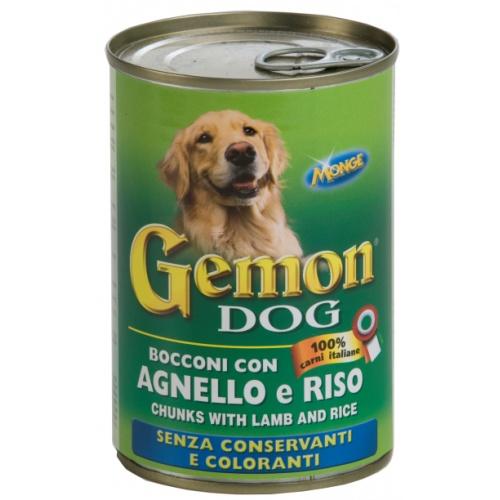 Gemon Kuzu Etli & Pirinçli Konserve Köpek Maması