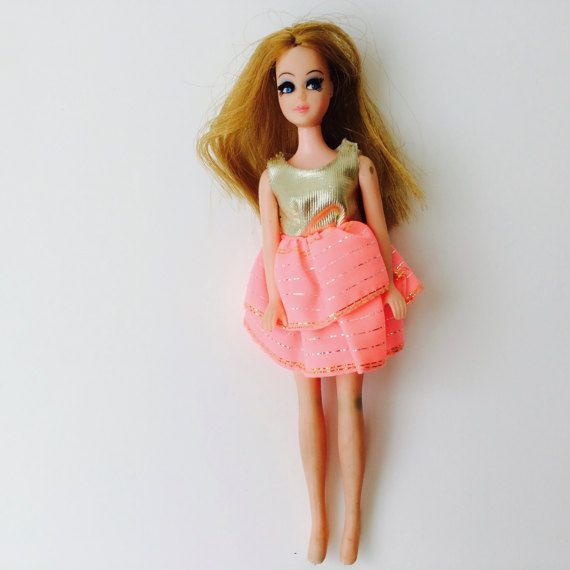 Vintage 1970 Topper Corp Dawn Doll/1970s Doll/Mini Doll/Vintage Doll/70s Toys/