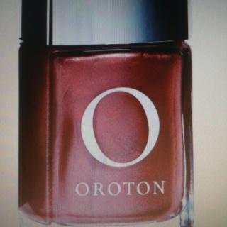 Oroton nail polish in Rose Gold