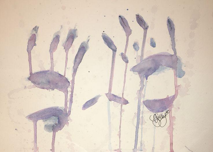 senses - Derwent inktense watercolour