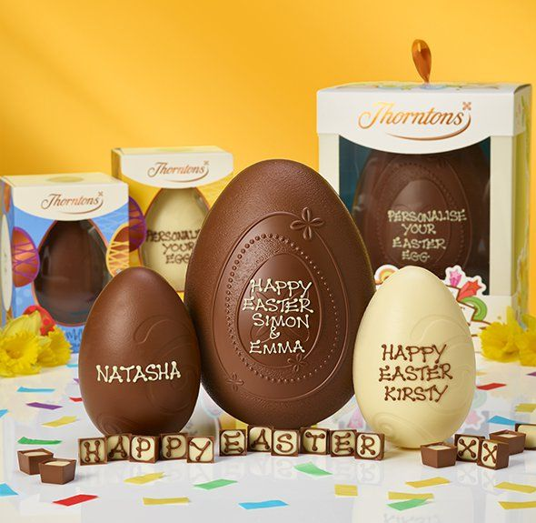 Thorntons  Chocolate Easter Eggs, Easter Hampers, Treats