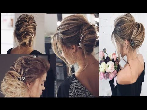 prom hairstyles for medium hair 2017 || Prom Hairstyles Medium Length Half Down, Half Up Hairstyle - YouTube