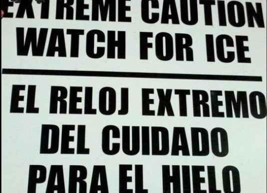 Los 20 carteles peor traducidos de la historia