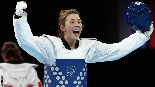 Jade Jones takes Gold for Team GB in Tae Kwondo