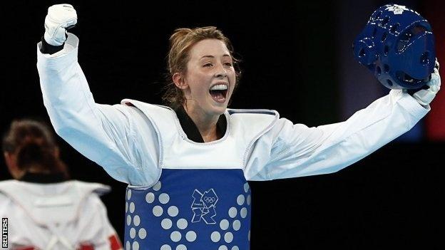 Jade Jones takes Gold for Team GB in Tae Kwondo