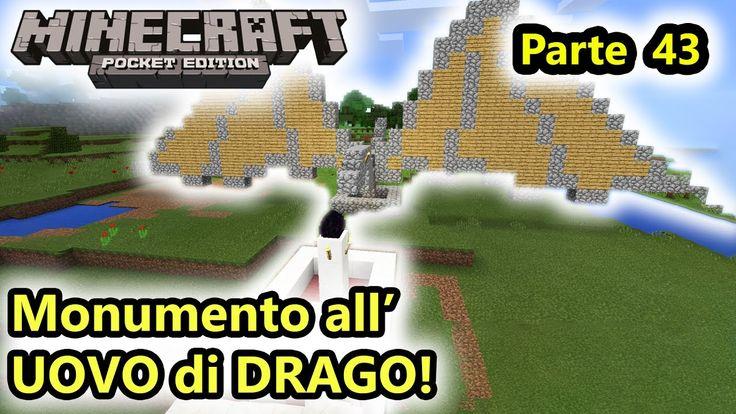 Minecraft PE - Monumento all'UOVO del Drago dell'END! - (Salvo Pimpo's)