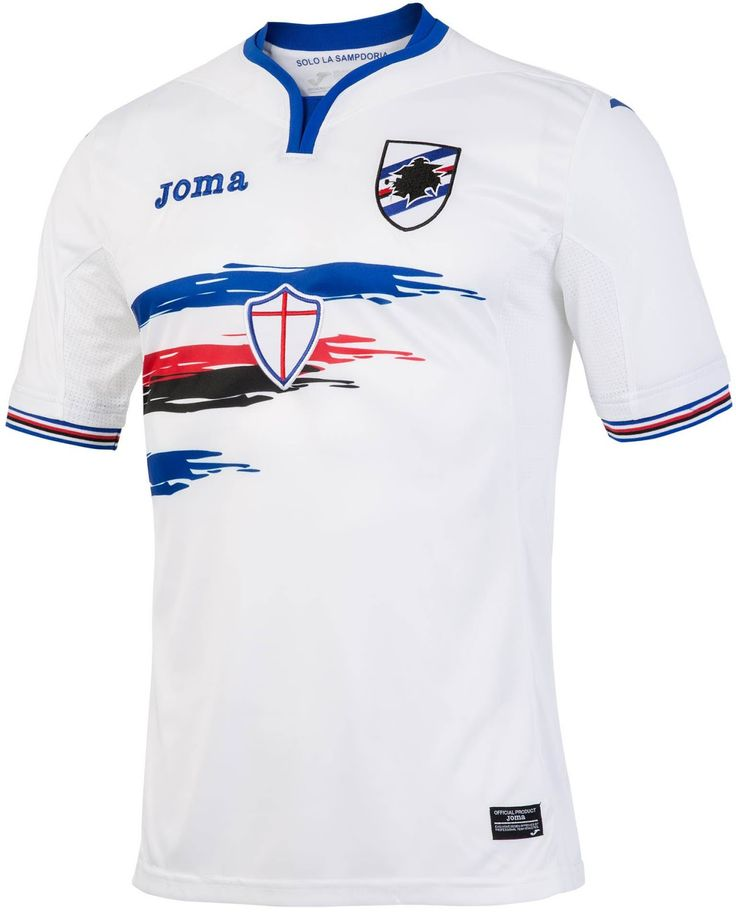 Sampdoria 16-17 Home and Away Kits Released - Footy Headlines
