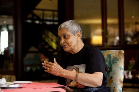 Conversation with Gayatri Spivak