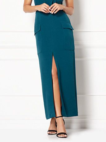 Shop Eva Mendes Collection - Sela Chiffon Maxi Skirt . Find your perfect size online at the best price at New York & Company.