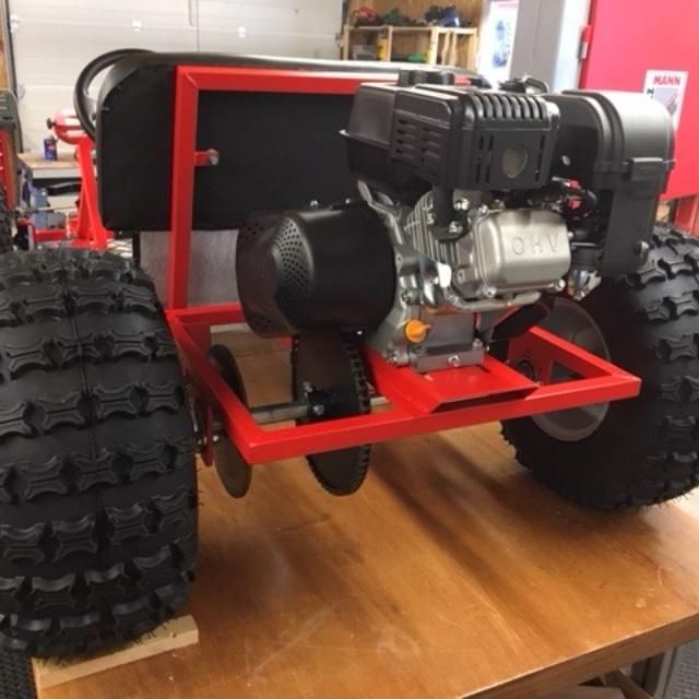 Deluxe Upgrade Live Axle Go-Kart Kit-- Frame not included