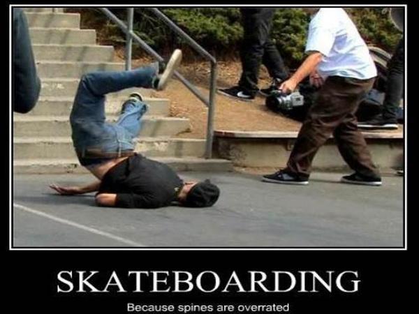 Skateboarding Accidents Broken Bones Compilation