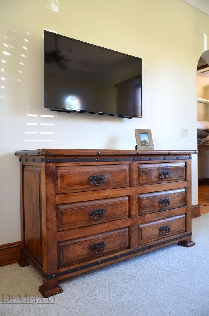 Custom built furniture for a santa barbara custom home for Bedroom furniture in spanish
