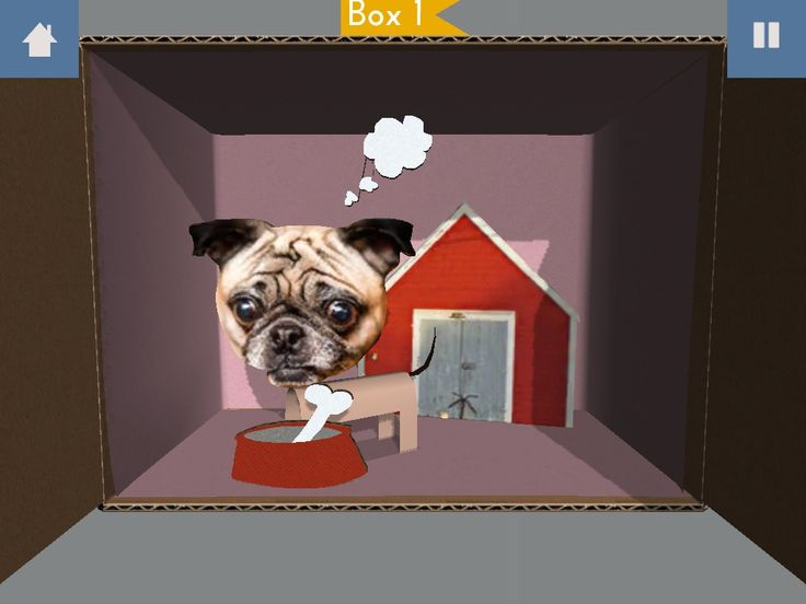 Hmm... We wonder what Mr. Pugsley is thinking about! #papercade #scrapgaming