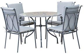 a3dc9265ecf3 Shop for LG Outdoor Constantine 4 Seater Garden Dining Table and Chairs Set,  Granite at ShopStyle. Now for £1,099.