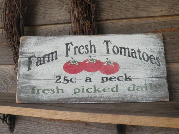 Hey, I found this really awesome Etsy listing at http://www.etsy.com/listing/80000907/tomato-sign-primitive-produce
