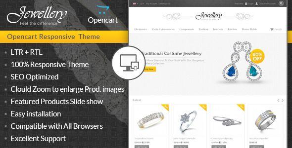 Jewellery - Opencart Responsive Template . Jewellery - Opencart Responsive Template